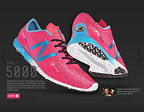 New Balance Store e-commerce iframe