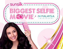 Sunsilk Biggest Selfie Movie in Malaysia