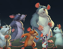 Scurry concepts: The Mice
