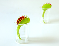 Venus Flytrap Brooches
