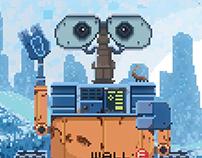 Pixel Wall-E
