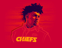 Patrick Mahomes II - Illustration