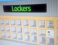 Concept Design - Portable Event Locker storage