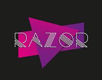 Razor Free Font