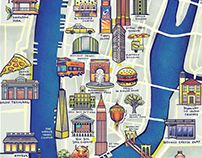 Great Little Place Illustrated Maps