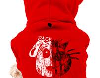 FACE OFF - Dog Hoodie Design