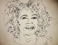 People sketch ~ Ink