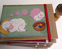 Sleeping sheep notebooks