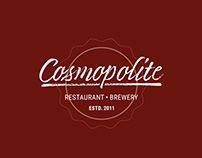Cosmopolite beer [packaging]