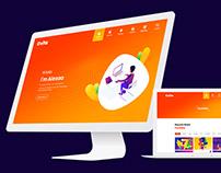 Cvita CV Resume Personal Portfolio PSD & HTML Template