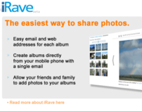iRave - The easiest way to share photos