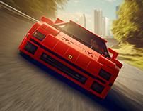 Lego Series No.1 - Ferrari F40