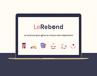 LeRebond - Branding & website