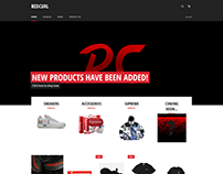 RedCurl Online Store ~ Webfolio