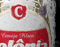 Lata Cerveja Colônia Pilsen