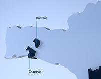 Mapa Infográfico Record News SC