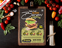 Restaurant Food Menu Design PSD Template