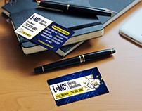 E=MC2 Business Cards
