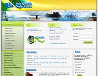 Radio Aparecida Website