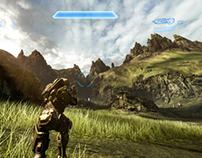 Halo 4 Skybox Art