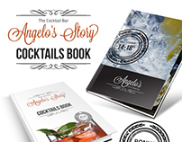 Cocktail Book Menu