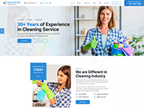 Cleaning web design