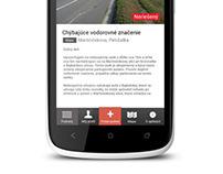Android UI - www.odkazprestarostu.sk