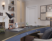 CGI for a study room, London