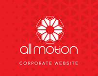 Corporate website for Ad agency