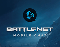 Battle.net Mobile Chat Design - Just for fun