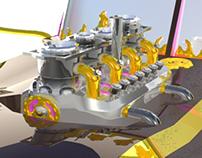 The Golden Pepsi Truck - DanceParade