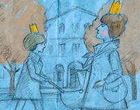 Illustrations for Yerevan magazine