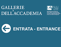 museum signs - Gallerie dell'Accademia