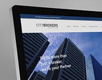 City Brokers - Website design