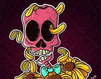 Natural skull