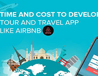 Time and Cost to Develop Tour & travel App Like Airbnb