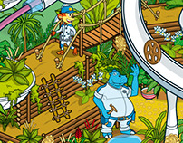 Kellogg's Coco Pops Crafty Croc Game Pack Illustration