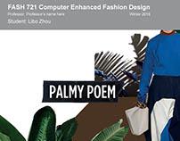 Computer-enhanced Fashion Design Course Project Portfol