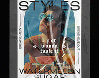 Watermelon Sugar Material - Harry Styles