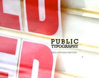 Public Typography