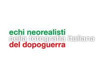 Echi Neorealisti - exhibition layout