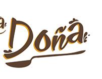 La Doña_logotype
