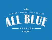 Logo Design - All Blue Seafood