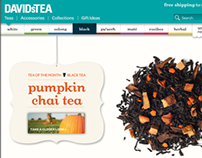 DAVIDs TEA (E-commerce)