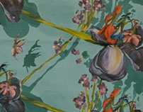 Paintings and Concepts for Textile Design
