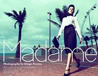Madame @ HUF MAGAZINE