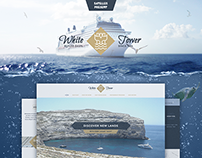 White Tower [concept of Luxury shipyard website]