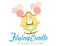 Corparate Identity - Flying Cradle online shop