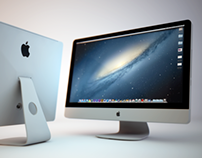 iMac Cinema 4D Render