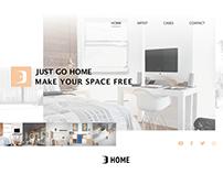 【Web UI】--HOME#01--Decoration